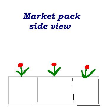 market pack side view