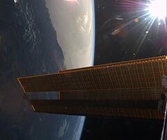 BMLBGkpCYAANdJu luca ISS